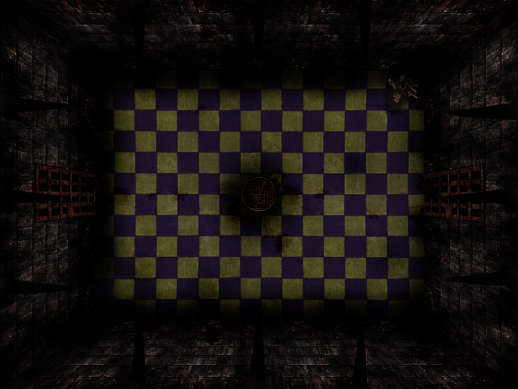 3D-like dungeon background